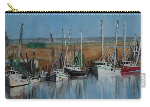 Shrimp Boats Of Darien, Ga Carry-all Pouch