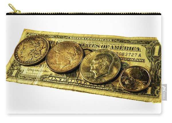 Shrinking Dollars Carry-all Pouch
