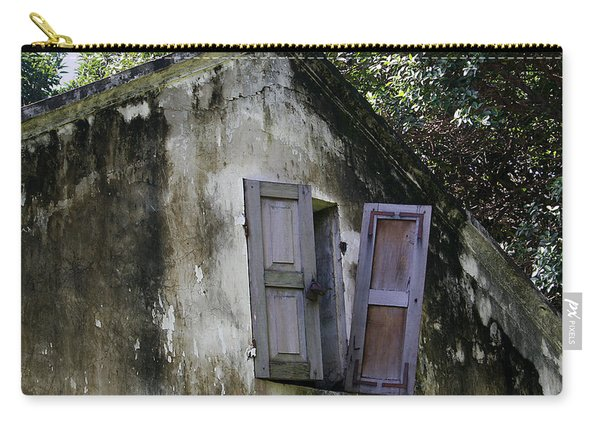 Shuttered #3 Carry-all Pouch
