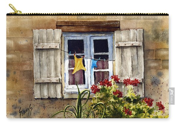 Shutters Carry-all Pouch