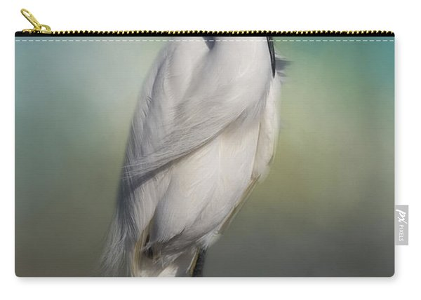 Shy Egret Carry-all Pouch