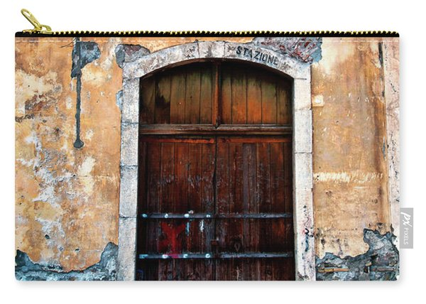 Sicilian Facade Carry-all Pouch