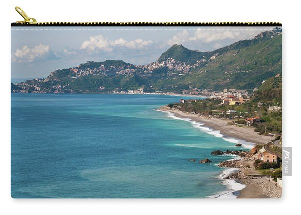 Sicilian Sea Sound Carry-all Pouch