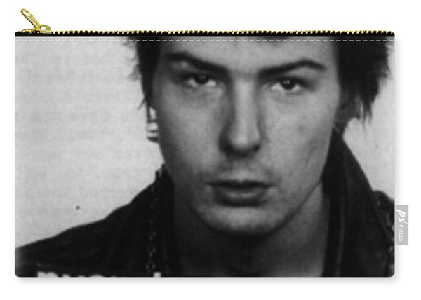 Sid Vicious Mug Shot Vertical Carry-all Pouch