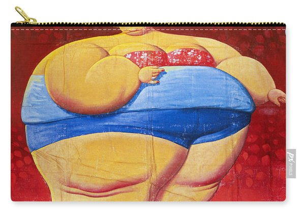 Sideshow Poster, C1949 Carry-all Pouch