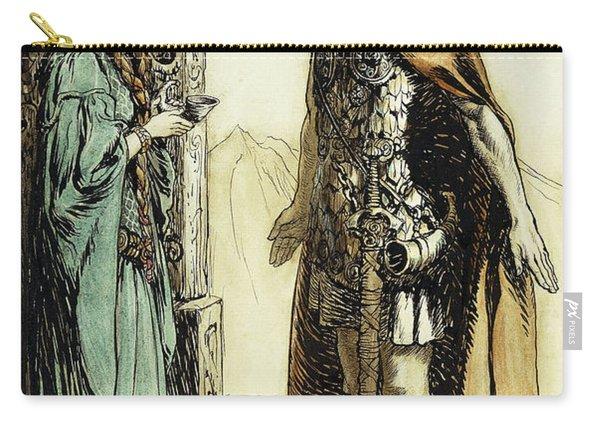 Siegfried Meets Gutrune Carry-all Pouch