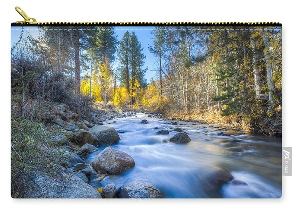 Sierra Mountain Stream Carry-all Pouch