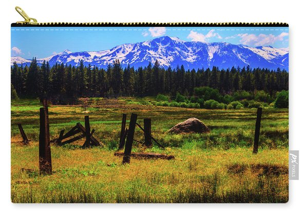 Sierra Nevada Mountains Carry-all Pouch