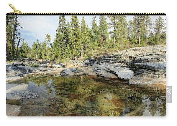Carry-all Pouch featuring the photograph Sierra Nirvana by Sean Sarsfield