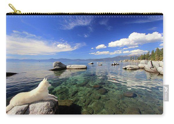 Carry-all Pouch featuring the photograph Sierra Sphinx by Sean Sarsfield