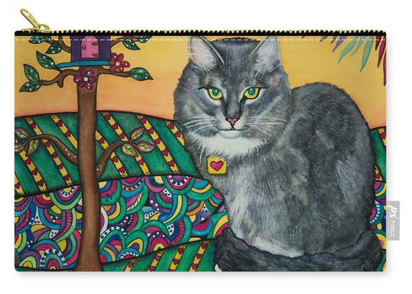 Sierra The Beloved Cat Carry-all Pouch
