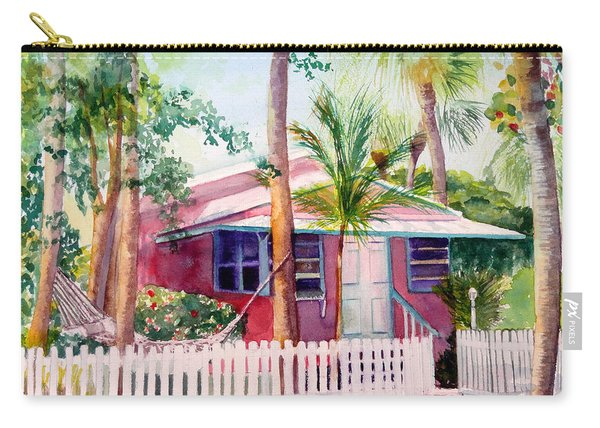 Siesta Key Cottage Carry-all Pouch