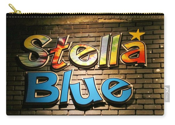 Sign Of Stella Blue Carry-all Pouch