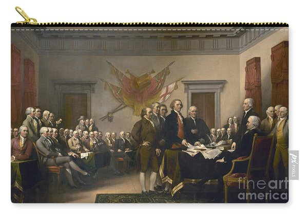 Signing The Declaration Of Independence, July 4th, 1776 Carry-all Pouch