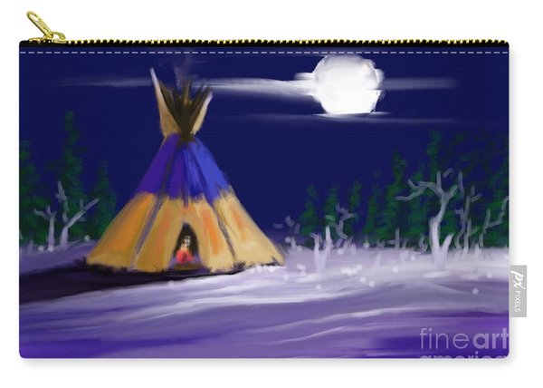 Silence In The Moonlight Carry-all Pouch