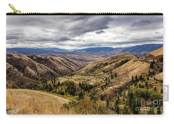 Silence Of Whitebird Canyon Idaho Journey Landscape Photography By Kaylyn Franks  Carry-all Pouch
