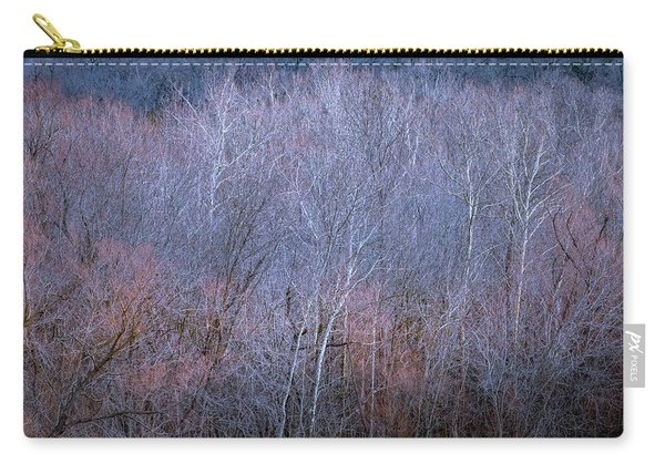 Carry-all Pouch featuring the photograph Silent Trees by Allin Sorenson