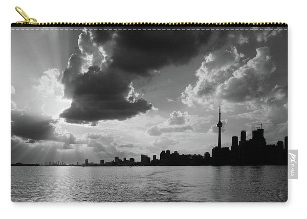 Silhouette Cn Tower Carry-all Pouch