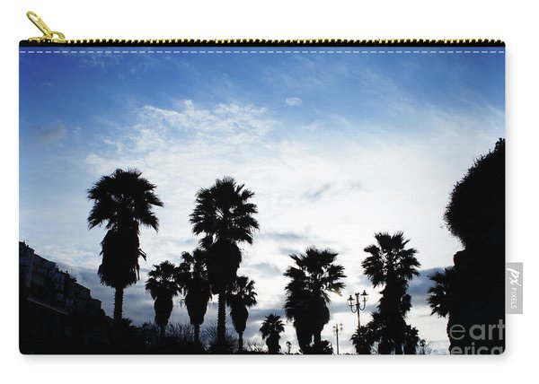 Silhouette In Tropea Carry-all Pouch