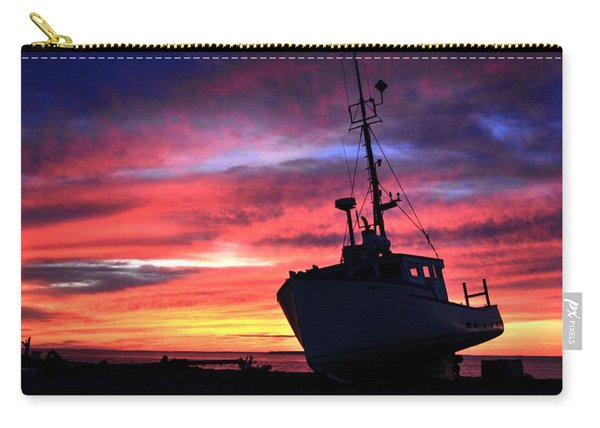 Silhouette Sunset Carry-all Pouch