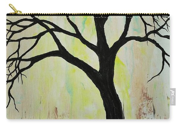 Silhouette Tree 2018 Carry-all Pouch