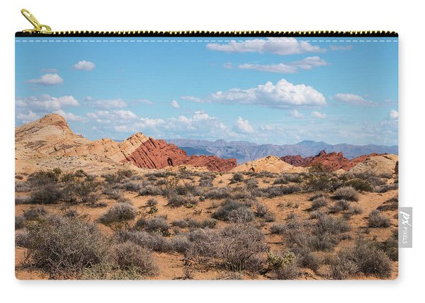 Silica Dome - Valley Of Fire Carry-all Pouch