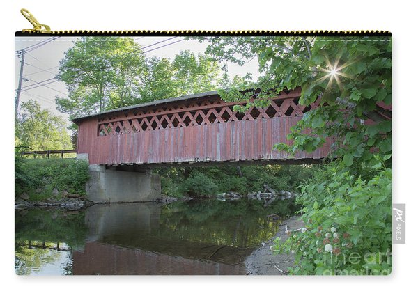 Silk Road Covered Bridge Carry-all Pouch
