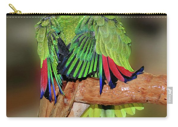 Silly Amazon Parrot Carry-all Pouch