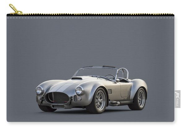Silver Ac Cobra Carry-all Pouch