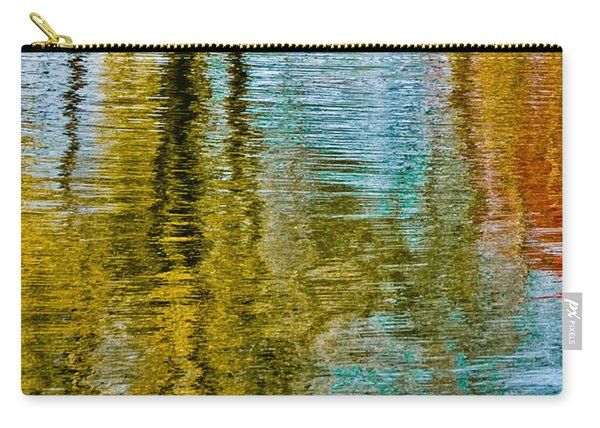 Silver Lake Autum Tree Reflections Carry-all Pouch