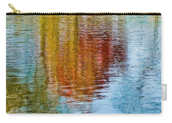 Silver Lake Autumn Reflections Carry-all Pouch