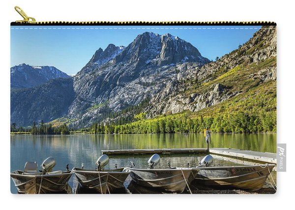 Silver Lake With Carson Peak Carry-all Pouch