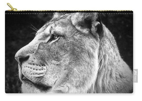 Silver Lioness  Carry-all Pouch
