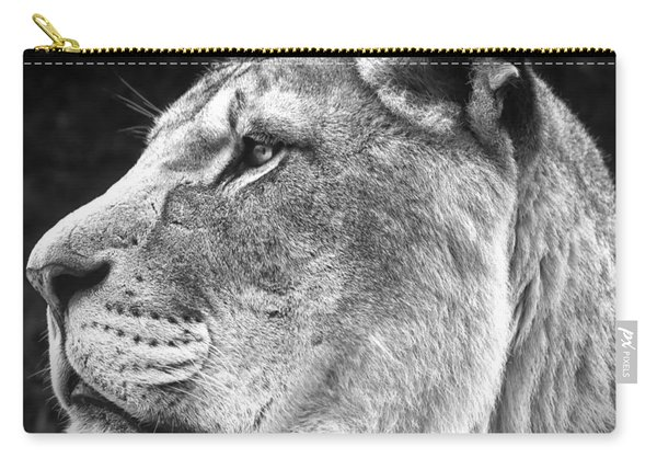 Silver Lioness - Squareformat Carry-all Pouch