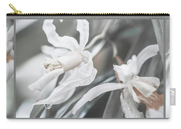Silver Melody. Triptych Carry-all Pouch