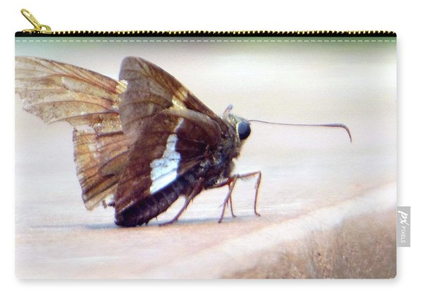 Silver Spotted Skipper Butterfly Carry-all Pouch