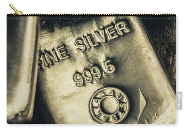 Silver Stackers Artwork Carry-all Pouch