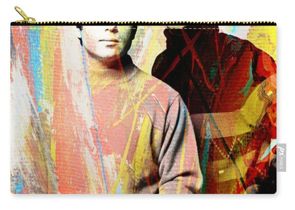 Simon And Garfunkel Color Art Poster Carry-all Pouch