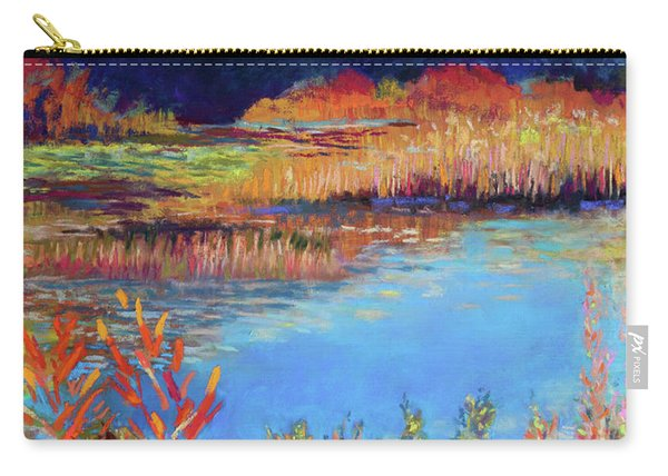 Simpaug Pond In October Carry-all Pouch