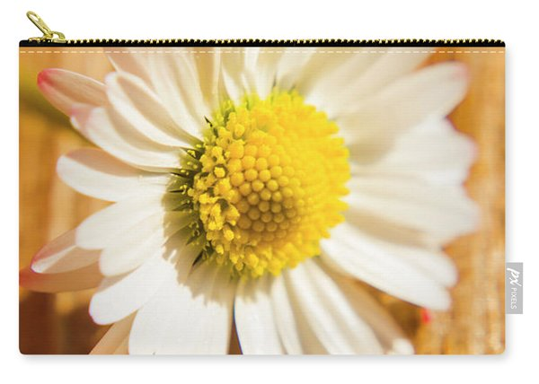 Simple Camomile  In Sunlight Carry-all Pouch