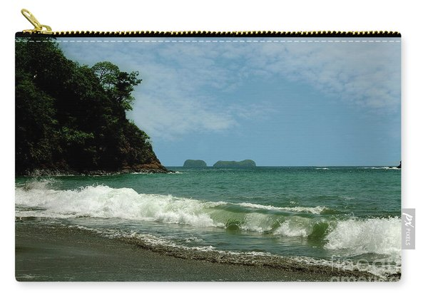 Simple Costa Rica Beach Carry-all Pouch