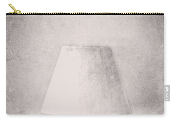 Simple Lamp In Black And White Carry-all Pouch