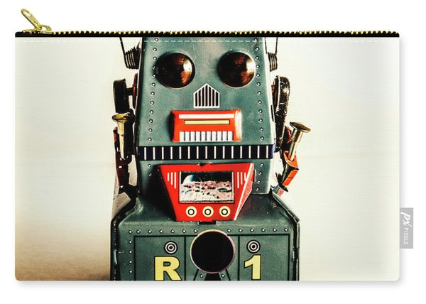 Simple Robot From 1960 Carry-all Pouch