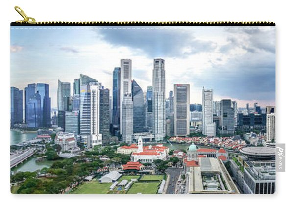 Singapore Cityscape Carry-all Pouch