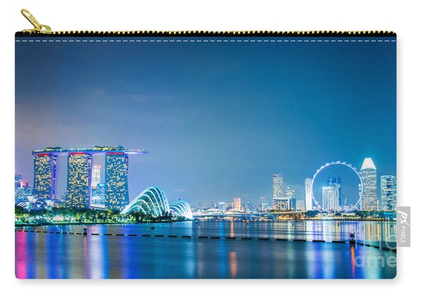 Singapore Panorama Carry-all Pouch