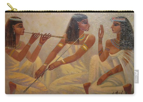 Singers Of Pharaoh Carry-all Pouch