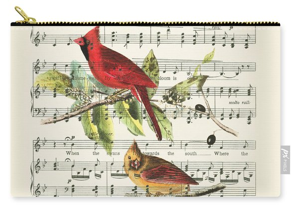Singing Cardinals Carry-all Pouch