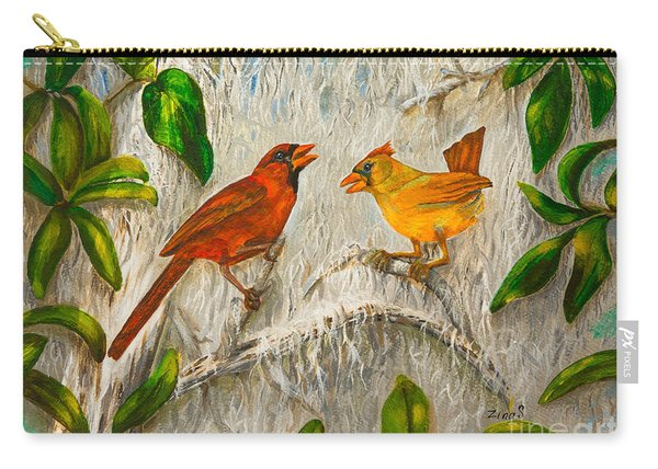 Singing Of Love Carry-all Pouch