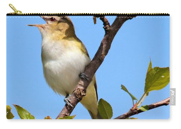 Singing Red-eyed Vireo Carry-all Pouch