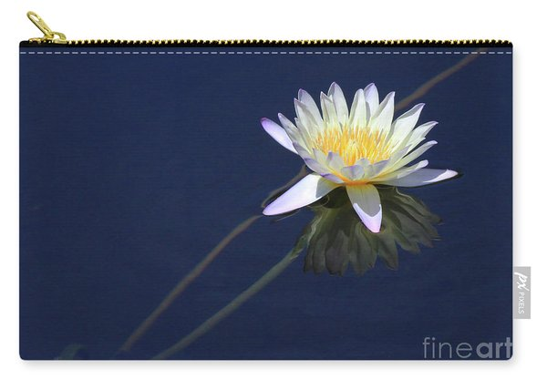 Single Lotus Carry-all Pouch